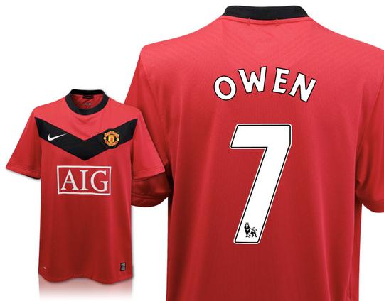 Manchester United - Hjemmebanetrøje 09/10